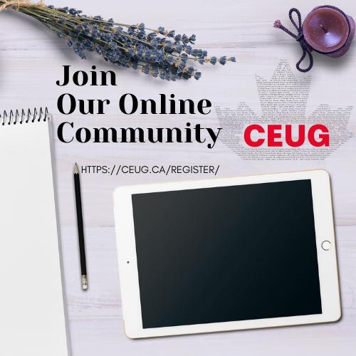 Join CEUG Online