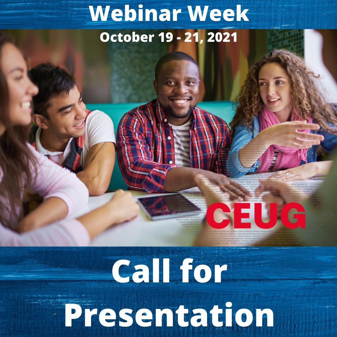 Call for Presentation 2021