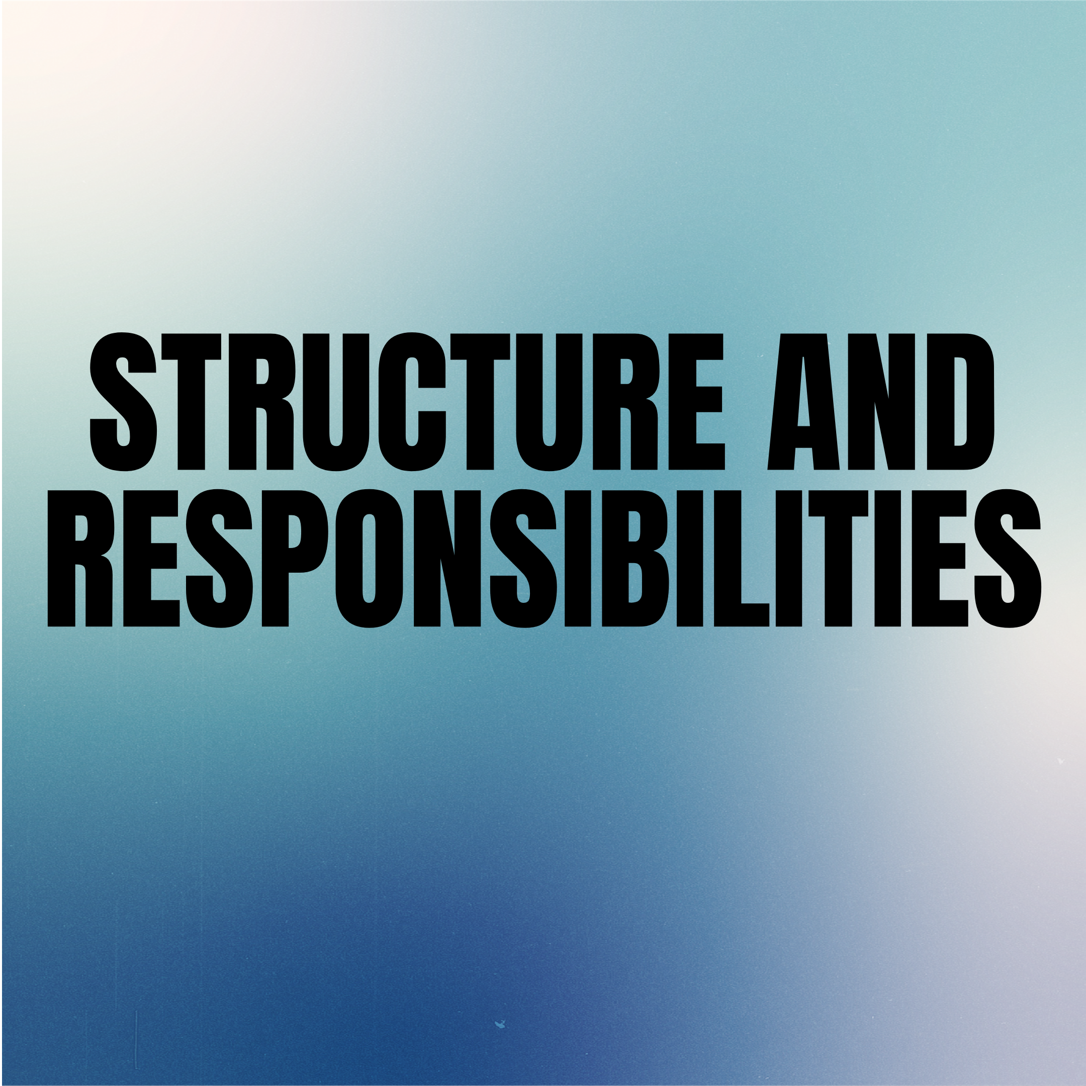 Structure & Responsibilities